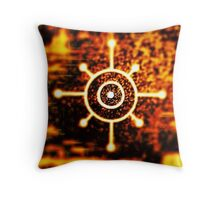 """A"" Key Throw Pillow"