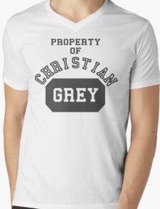 Property of Christian Grey Mens V-Neck T-Shirt