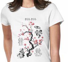 Sakura Sakura Womens Fitted T-Shirt