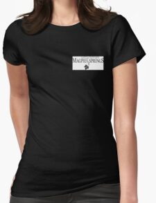 Magpie Springs logo Womens Fitted T-Shirt