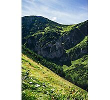 Green Mountain Tops Photographic Print