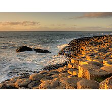 The Giants Causeway County Antrim Northern Ireland Photographic Print