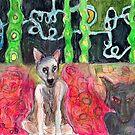 Me and my Shawdow by Diane  Kramer