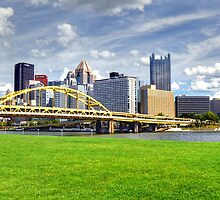 Skies over Pittsburgh by Chuck Chisler