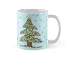 Seaside Christmas Tree Mug