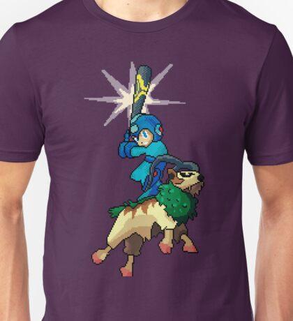 Go-Goat and Mega Man Unisex T-Shirt
