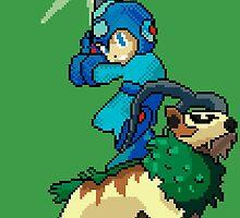 Go-Goat and Mega Man by Sam Smith