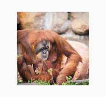 Mama orangutan and baby Unisex T-Shirt