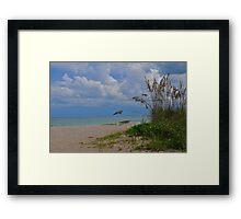 Tranquil Beach Framed Print