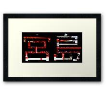 Miyajama Kanji Framed Print