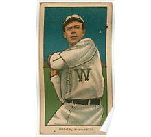 Benjamin K Edwards Collection Bob Groom Washington Nationals baseball card portrait 001 Poster