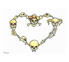 deadly heart Photographic Print