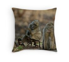 Youth League Politics Throw Pillow