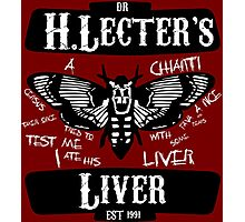 Liver and Chianti (SOLT) Photographic Print