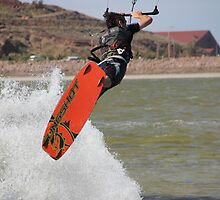 Kite Surfer by Peter Vincent
