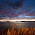 Lake Taupo Sunset, New Zealand by Marc Garrido Clotet