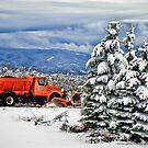 Snow Plow by Kay Kempton Raade