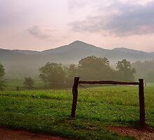 Early Morning - Cades Cove, Tennessee by glennc70000