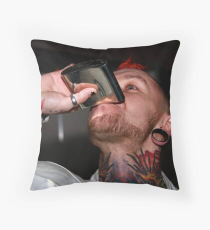 Tattoo Portrait 6 Throw Pillow