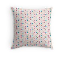 Just arrows Throw Pillow