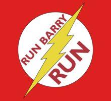 Run Barry Run Kids Tee