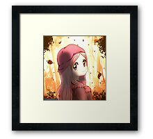 Watch the leaves fall Framed Print