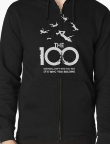 The 100 - Survival Zipped Hoodie