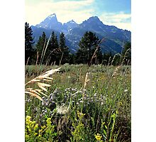 A Teton Adventure Photographic Print