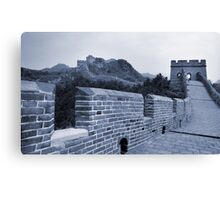 The Great Wall, China Canvas Print