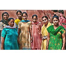 Life in India V Photographic Print
