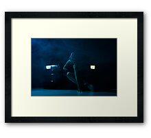 Nite moves Framed Print