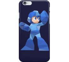"""De-Rezzed Mega Man"" - Low Polygon Art iPhone Case/Skin"
