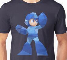 """""""De-Rezzed Mega Man"""" - Low Polygon Art Unisex T-Shirt"""