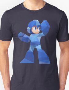 """""""De-Rezzed Mega Man"""" - Low Polygon Art T-Shirt"""