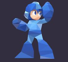 """De-Rezzed Mega Man"" - Low Polygon Art Unisex T-Shirt"