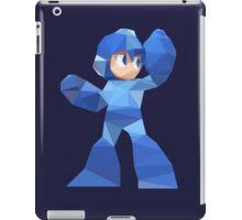 """""""De-Rezzed Mega Man"""" - Low Polygon Art iPad Case/Skin"""
