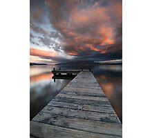Nightfalls, Tarawera Photographic Print
