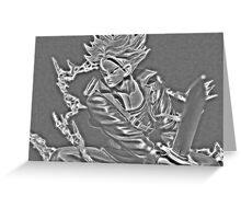 Sword Rush Trunks Greeting Card