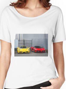 Ferrari Enzo & LaFerrari  Women's Relaxed Fit T-Shirt