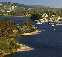 North Arm at Lakes Entrance by Darren Stones
