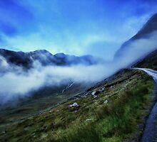 Misty Mountain Road by Jill Fisher
