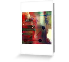 The undeniable abstract reality Greeting Card