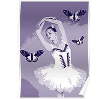 Ballet Wings Poster