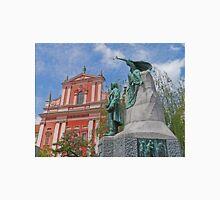 Franciscan Church & Preseren Monument Unisex T-Shirt
