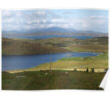 View from Carloway Broch Poster