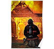 Firemen's Valor Poster