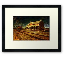 Can You Hear the Whistle Blowing? Framed Print