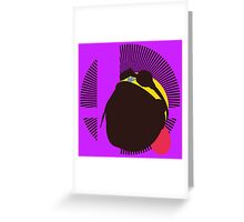 Wario (Kirby Hat) - Sunset Shores Greeting Card