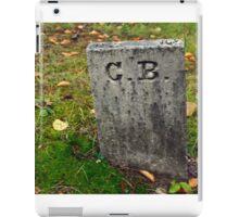 ...who is C.B.?... iPad Case/Skin