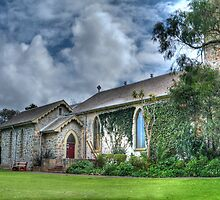 St. John the Evangelist Anglican Church, Albany, Western Australia by Elaine Teague
